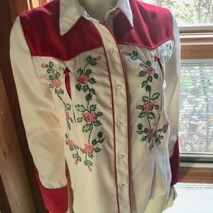 Western Embroidery Shirt
